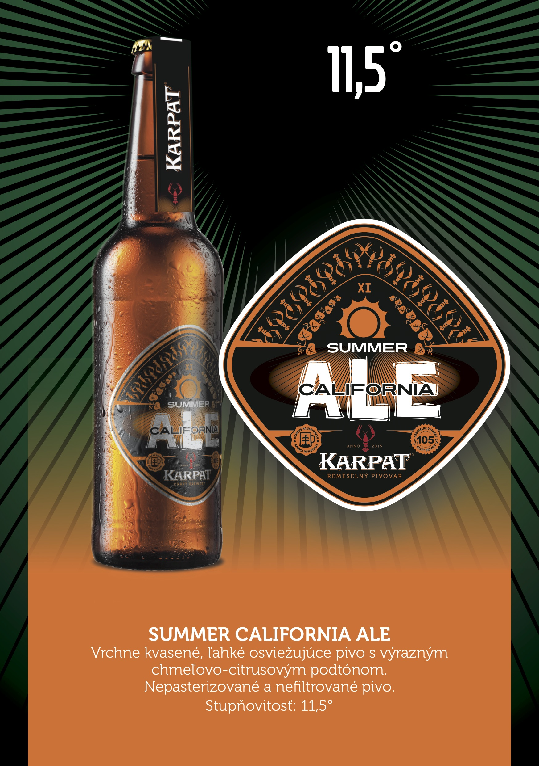 SUMMER CALIFORNIA ALE